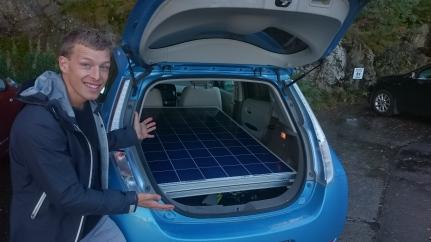 Fornøyd solcellekjøper