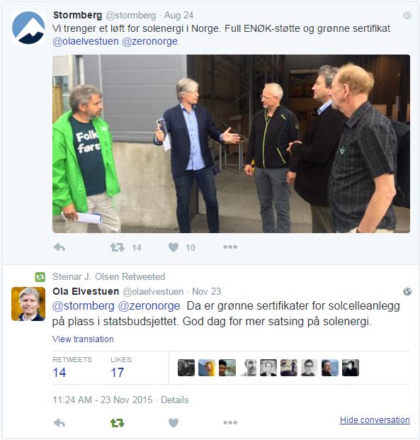 TwitterCommentGrønneSertifikater